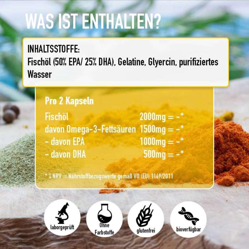 omega 3 hochdosiert