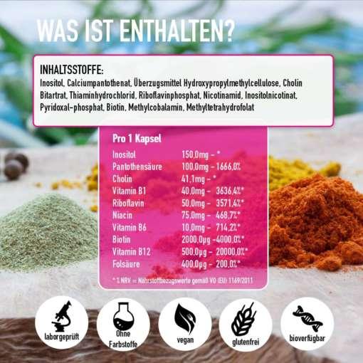 inhaltsstoffe vitamin b komplex