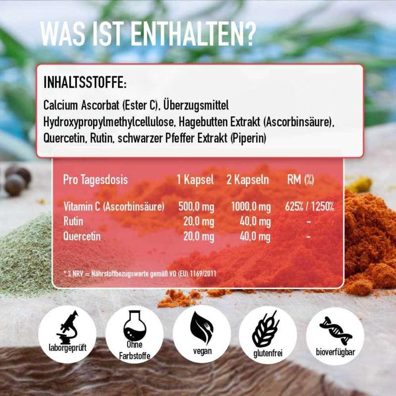 vitamin c komplex inhaltsstoffe