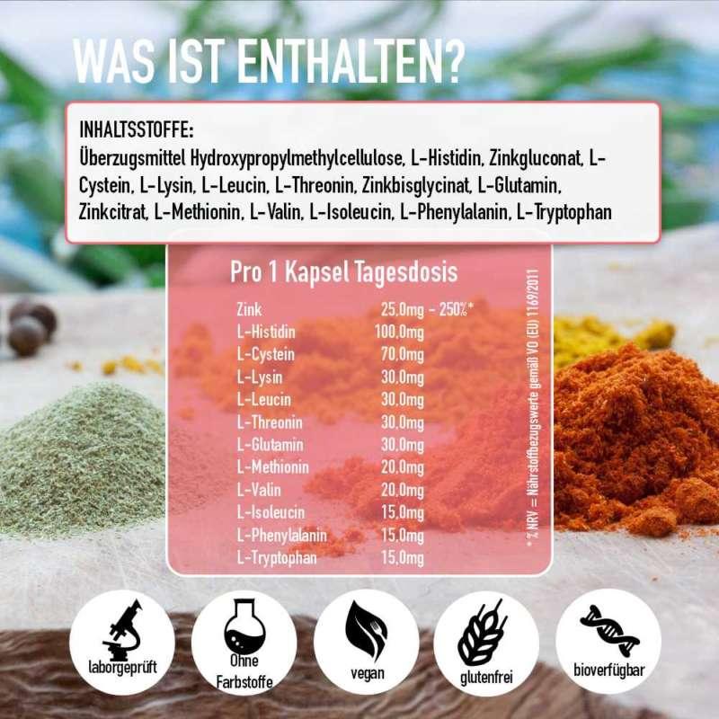 zink komplex inhaltsstoffe