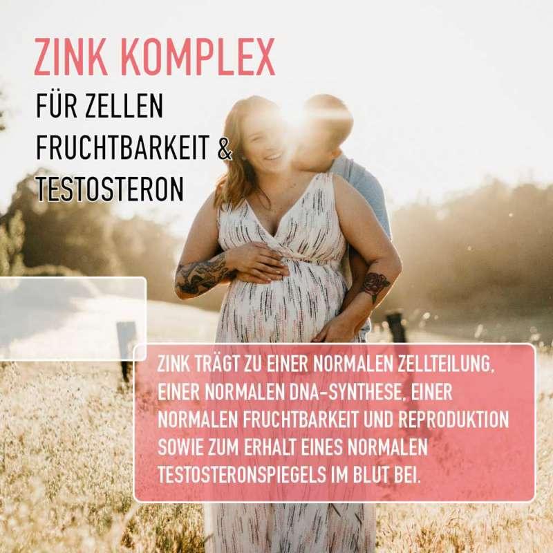 zink zellen fruchtbarkeit testosteron