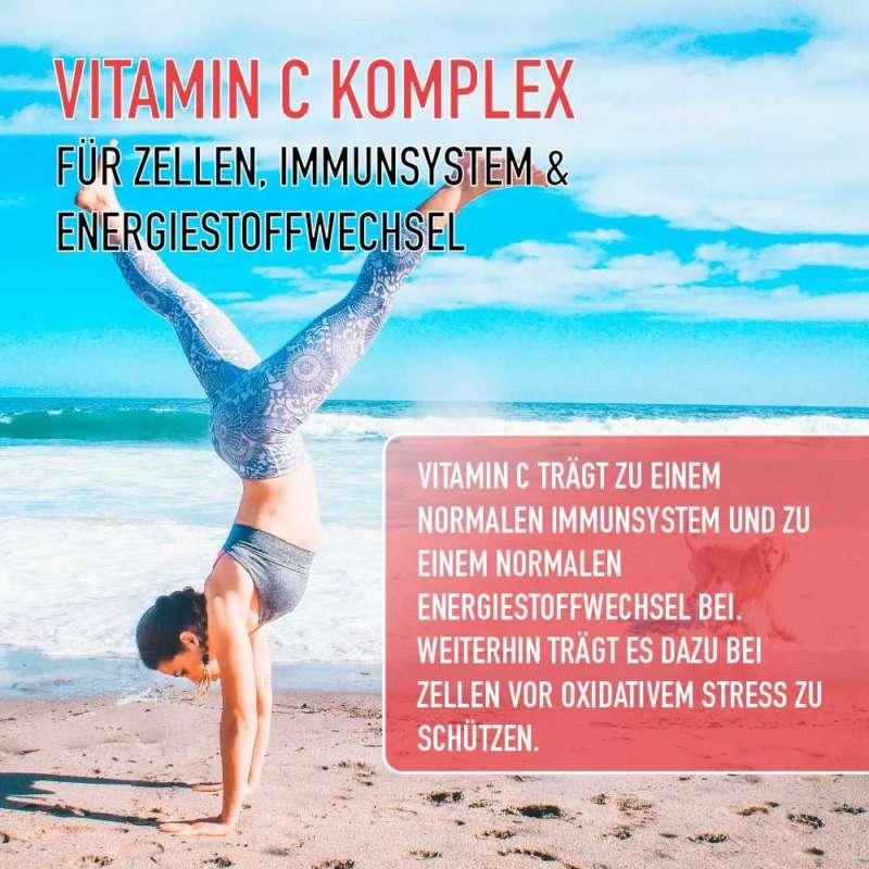 vitamin c zellen immunsystem energie