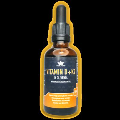 vitamin d tropfen olivenöl mit k2